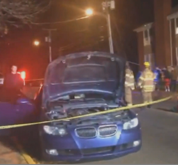 Driver crashes in downtown Lexington, arrested for DUI