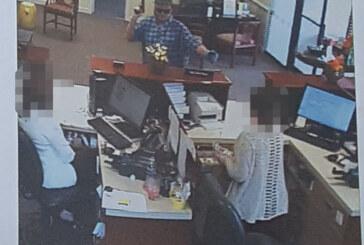 Bank president supports staff after armed robbery