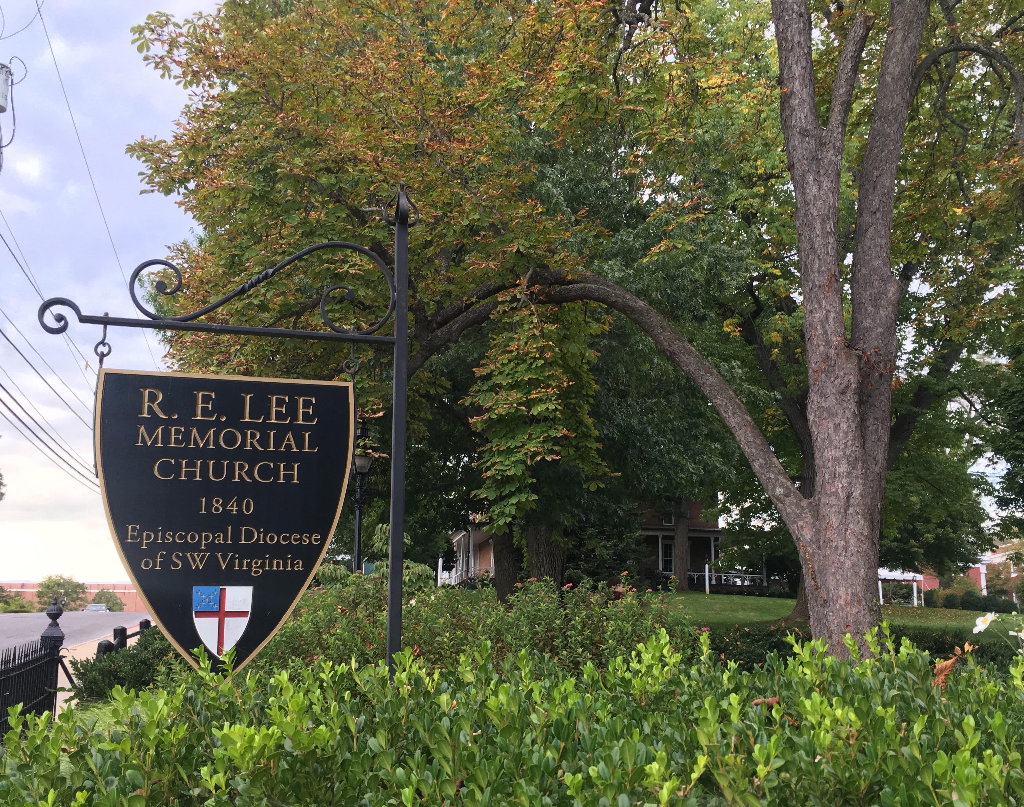 R. E. Lee Memorial Episcopal Church changes name