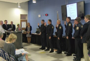 Lexington Fire Department welcomes five new firefighters