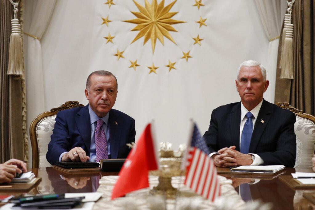U.S., Turkey agree on Turkish cease-fire with Syrian Kurds