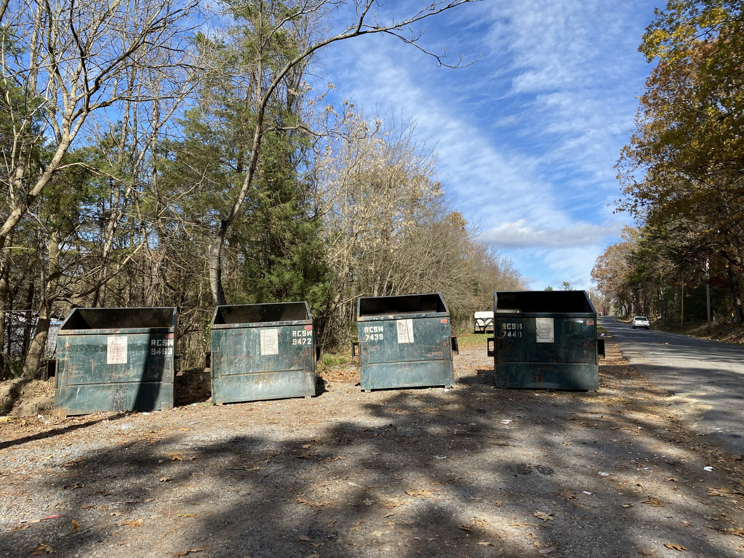 County closes four unstaffed dump sites, opens new trash center in Fancy Hill