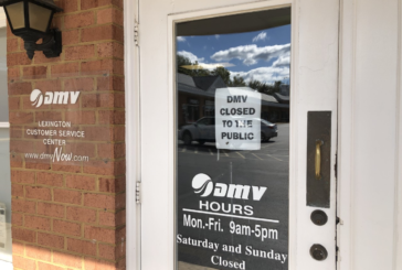 Lexington DMV is still closed, putting the brakes on many services